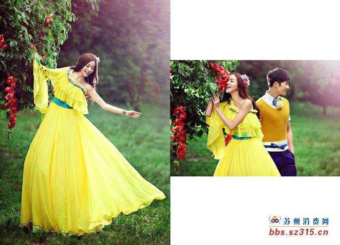 苏州婚纱摄影苏州亲密爱人婚纱摄影十月优惠不断