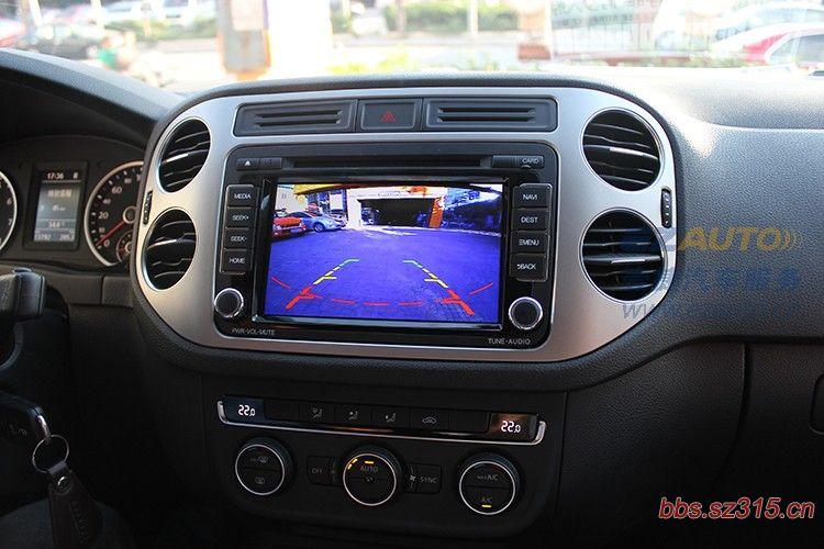 DVD一体机 倒车影像 途安速腾迈腾宝来帕萨特专用高清图片