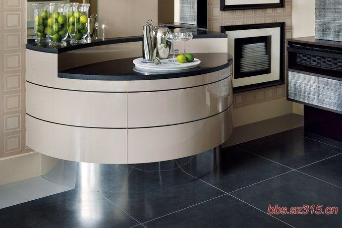 自然整体风格开放式厨房装修效果